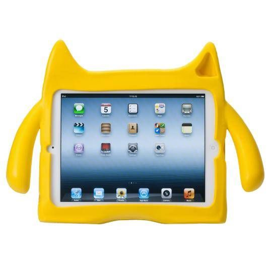 Ndevr iPad Mini Case- YELLOW | Designed especially for active, playful kids. your child will love they're very own NDevr Gremlin! #Gremlin #Ndevr #ipadmini #kids #fun