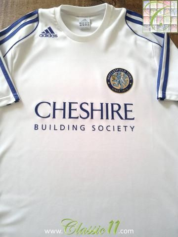 Relive Macclesfield Town's 2008/2009 season with this original Adidas away football shirt.