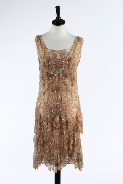 Callot Soeurs evening dress, 1927 From Kerry... - Fripperies and Fobs
