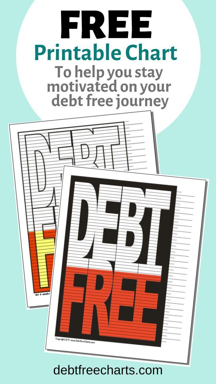 Debt Free Chart Debt free, Debt, Debt tracker