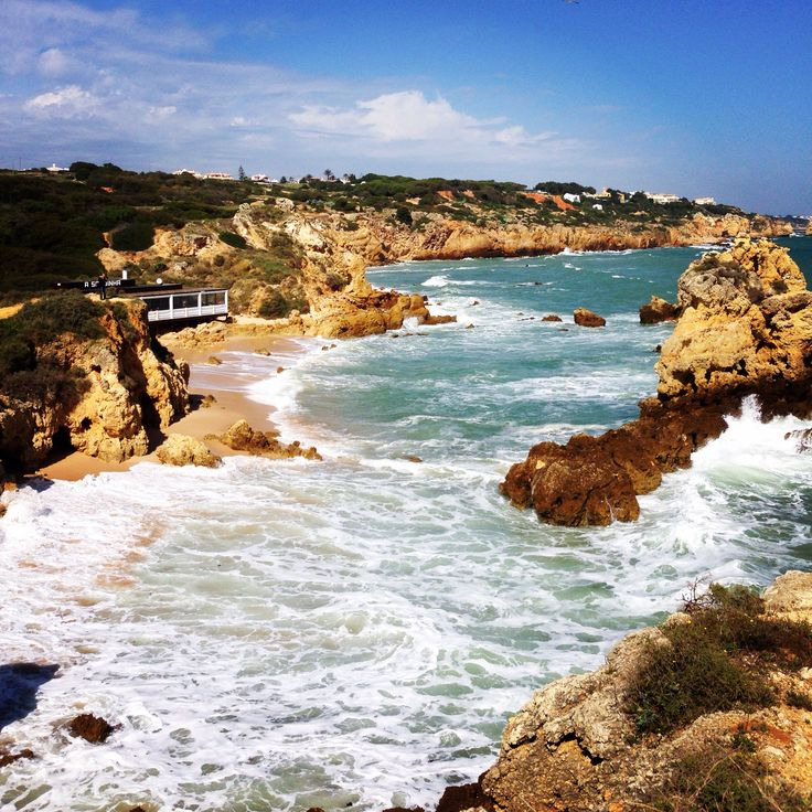 Had such a great time hiking along the Coast in the Algarve, Portugal