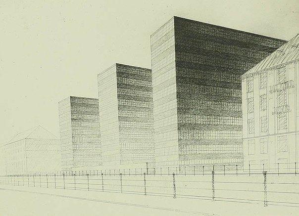 Reichsbank, Mies van der Rohe