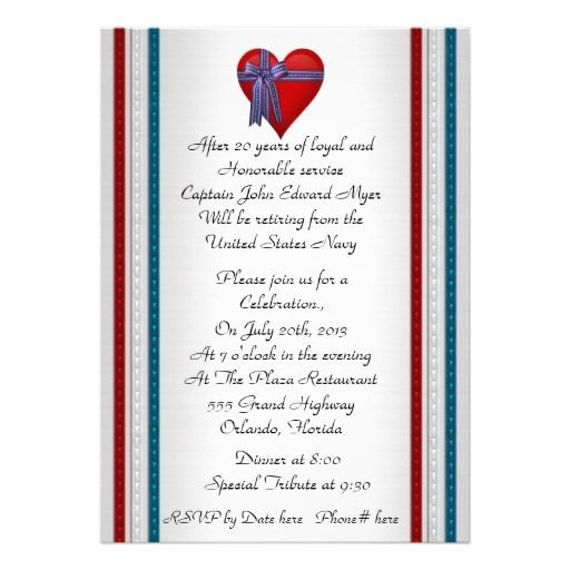 25 best images about military retirement invitations party for Air force decoration examples