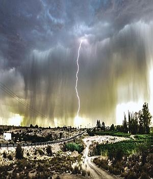 Thunderstorm in the Northern Cape