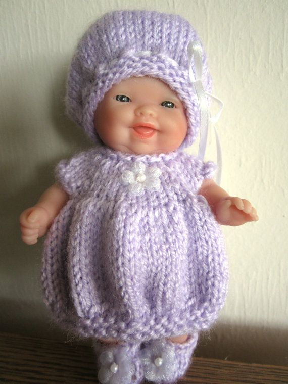 588 best images about Berenguer /Small doll crochet on Pinterest Cupcake do...