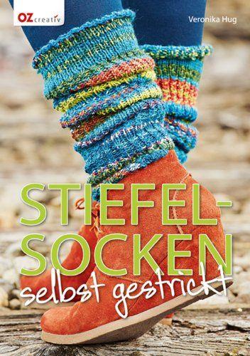 Stiefelsocken selbst gestrickt von Veronika Hug http://www.amazon.de/dp/3841062792/ref=cm_sw_r_pi_dp_i1lPvb0JAGHS7