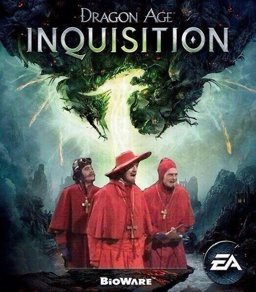 Nobody expects the dragon age inquestition