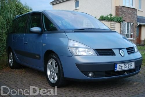 Diesel  7 seater 1.9 dci 6 speed for sale in Dublin on DoneDeal