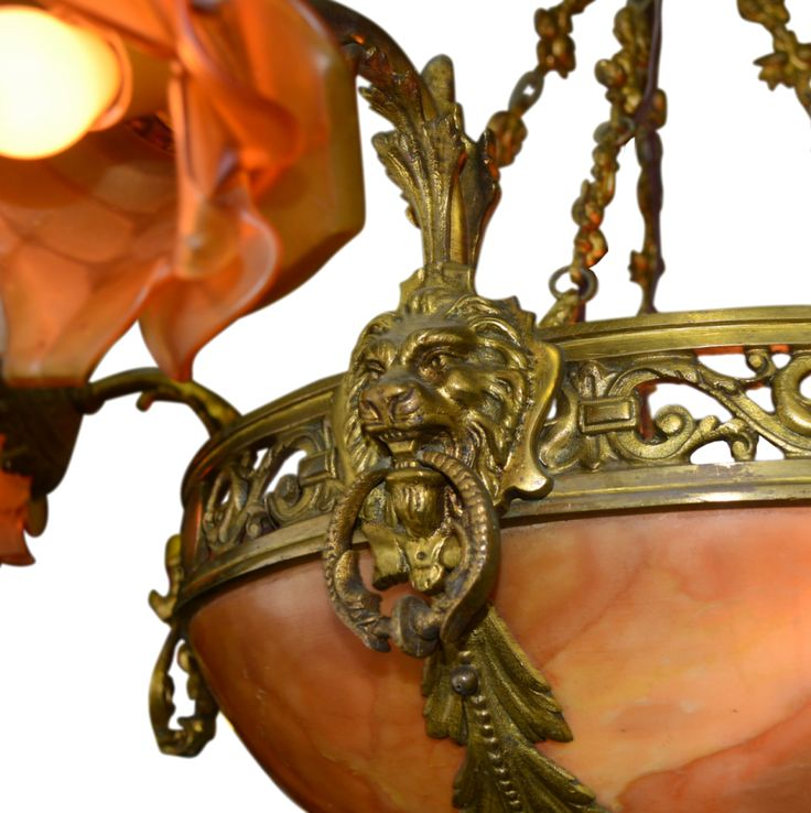 17 Best images about Bevolo Collection – Antique Alabaster Chandelier