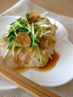 めかじきの香味醤油がけ by yaburie [クックパッド] 簡単おいしいみんなのレシピが260万品