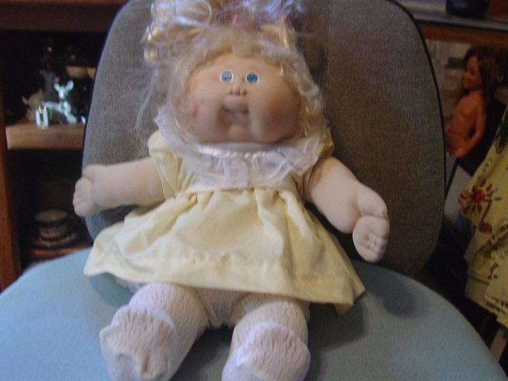 Vintage Cabbage Patch Doll with Outfit #CabbagePatchKids