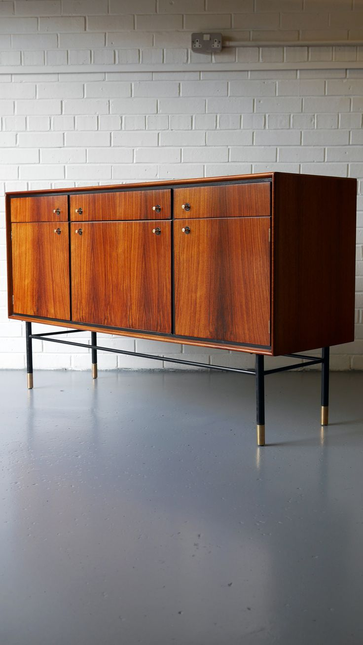 Mid Century Heals Sideboard in Rosewood and Mahogany 1950s
