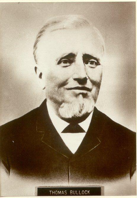 Great Great Grandfather Thomas Bullock