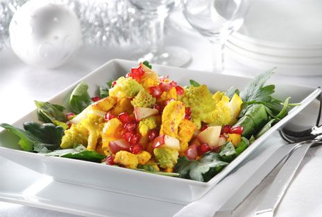 Saffransdoftande quornbitar med fänkål och äpple | Recept.nu