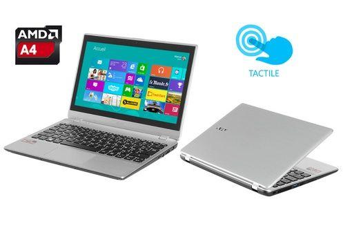 PC portable Acer ASPIRE V5-122-42154G50NSS ARGENT prix soldes Darty 339,00 € TTC au lieu de 399 €.