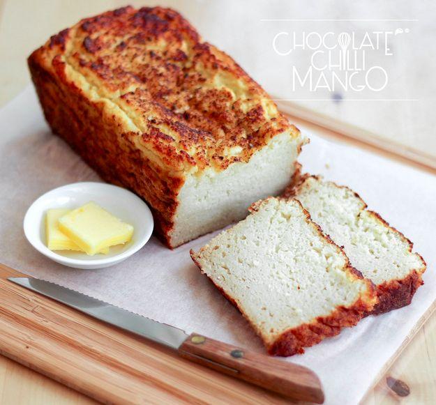 Cauliflower Protein Bread | 23 Insanely Clever Ways To Eat Cauliflower Instead of Carbs