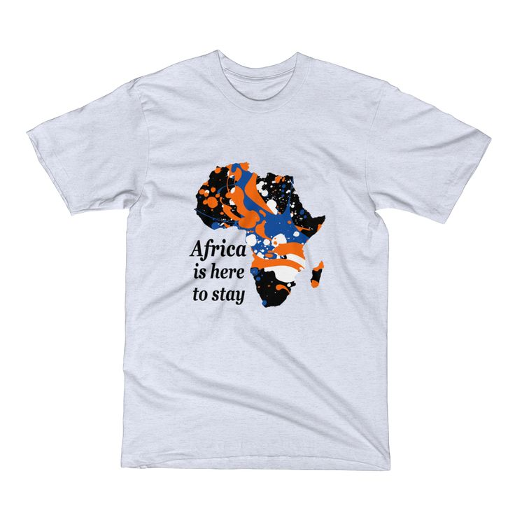 Africa is here to stay - Men's Short Sleeve T-Shirt