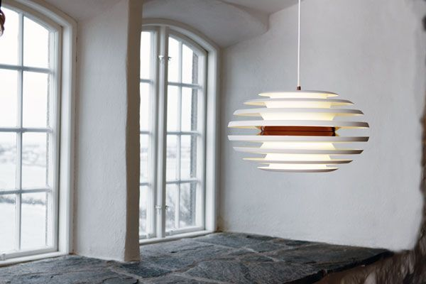 Ellipse pendant - copper Made in Sweden by Belid