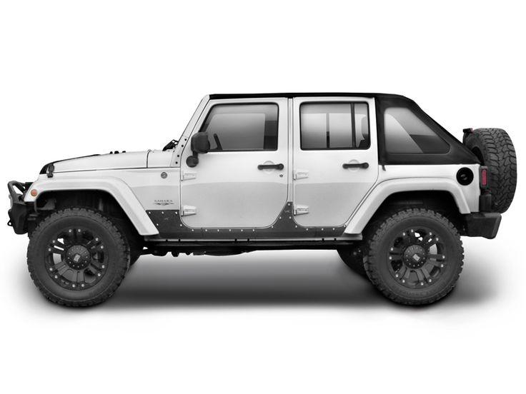 Smittybilt Xrc 76887 Body Cladding For 07 Up Jeep Wrangler