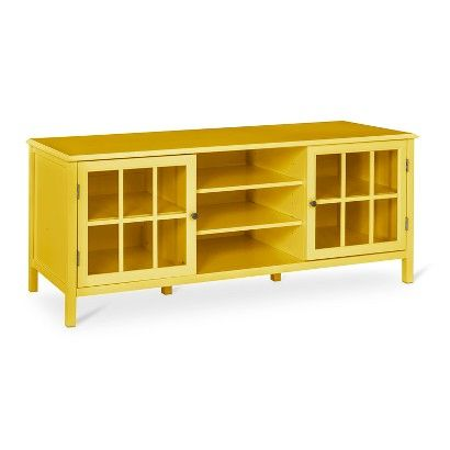 LR: I wasn't intending to suggest a target TV stand but I'd be remiss if I didn't include this--in white, not yellow! Windham Large TV Stand - Threshold™