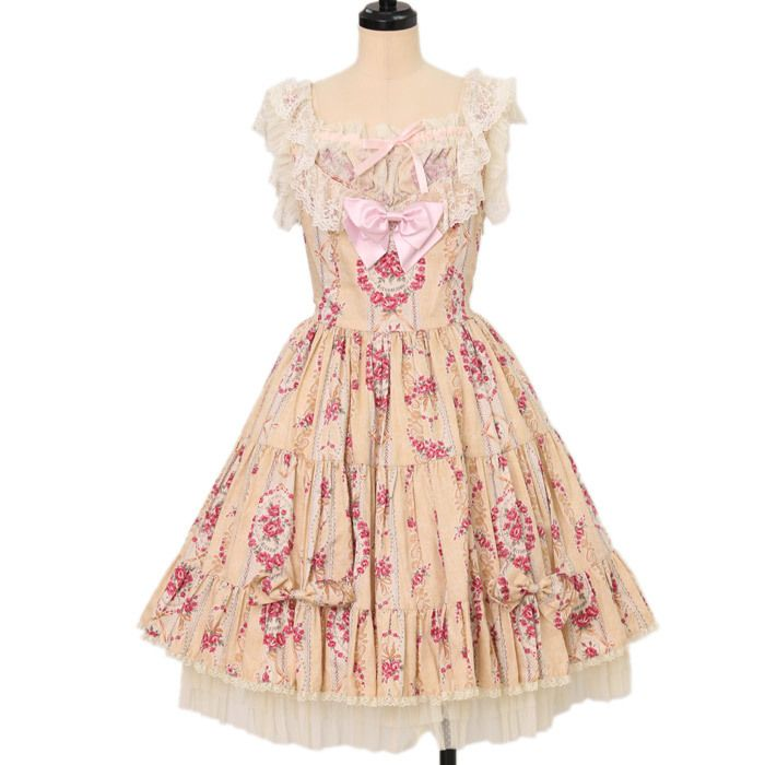 Worldwide shipping available ♪ ブーケ柄リボンジャンパースカート metamorphose https://www.wunderwelt.jp/en/products/w-17008  IOS application ☆ Alice Holic ☆ release Japanese: https://aliceholic.com/ English: http://en.aliceholic.com/