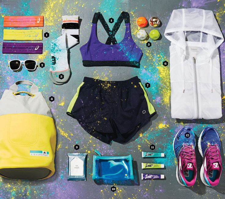 Everything You Need to Crush The Color Run - SELF