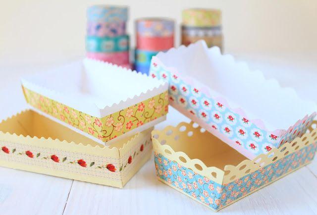 FREE printable paper basket