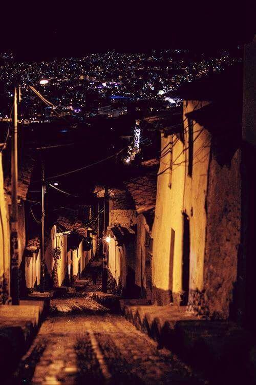 night, street , Athens , Greece .