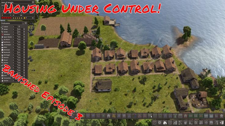 Lets Play | Banished | Housing under controll! | Episode 3