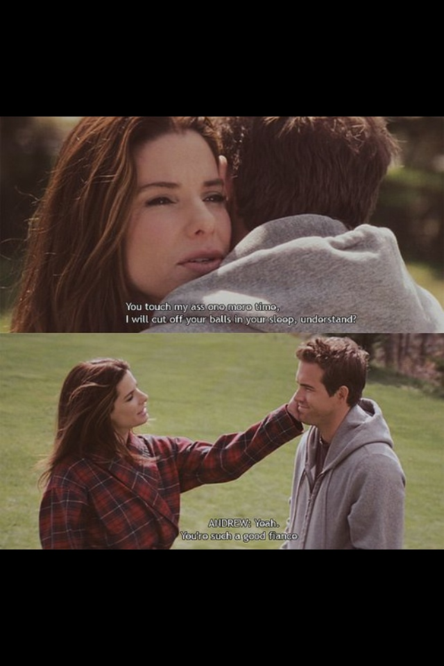 The Proposal! I love this movie SO much!
