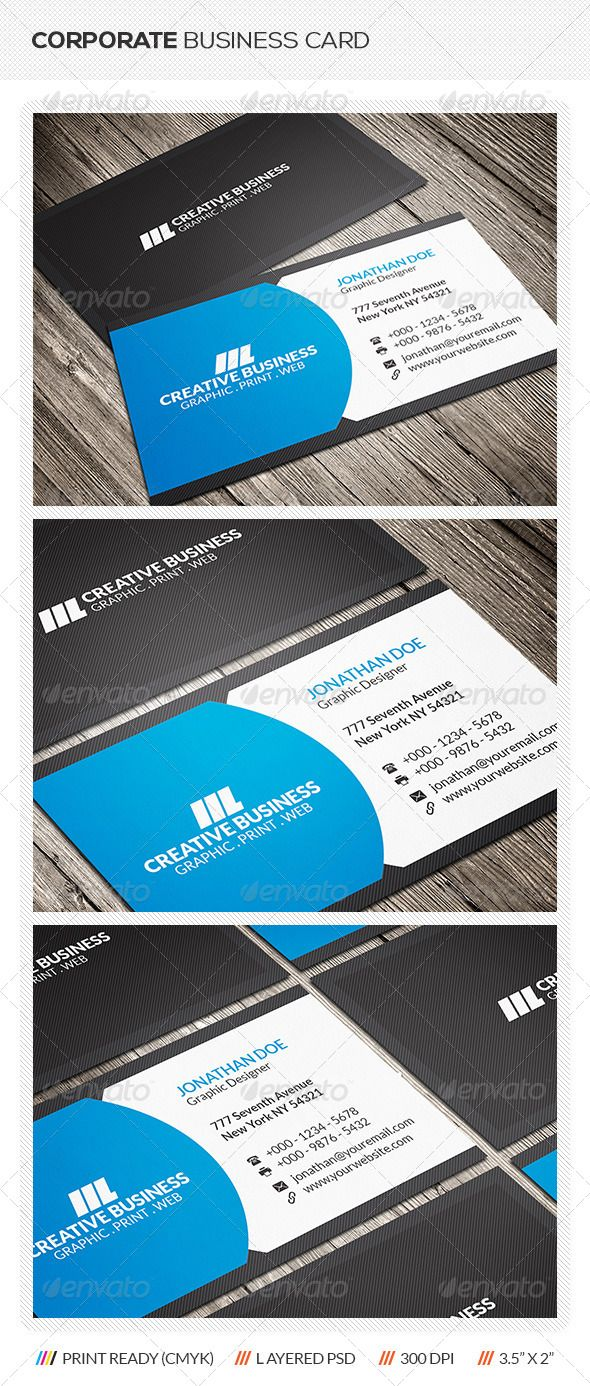 109 best print templates images on pinterest print templates corporate business card reheart Image collections