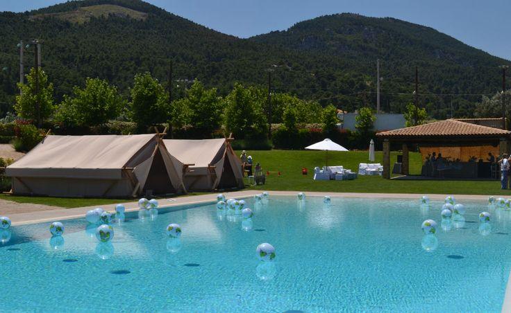 """Στο κτήμα casa e campo πραγματοποιήθηκε μια ονειρεμένη βάπτιση με την επιμέλεια της """"Only for you""""  www.onlyforyou.gr με θέμα """"Life is a journey"""""""