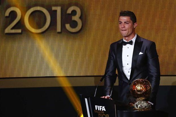 Cómo fueron los resultados de la votación del Balón de Oro 2013, que ganó Cristiano Ronaldo  En 2013, Cristiano Ronaldo fue el mejor.         Foto:Reuters