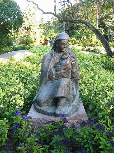 Leo Mol; Sculpture Garden in Assiniboine Park, Winnipeg