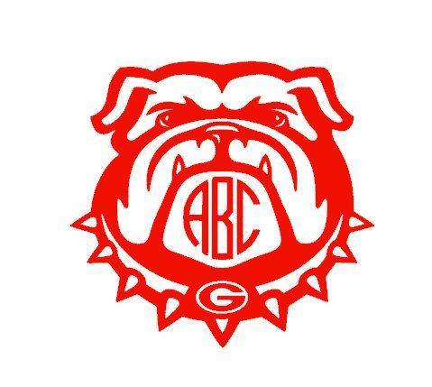 Georgia Bulldogs Monogram Collegiate Football Car By