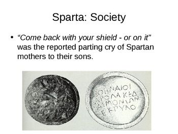 a history about lifestyle in sparta 2018-3-19  here are some facts about sparta, the famous city-state of ancient greece sparta  this facts helps me a lot about my history homework reply jayson says.