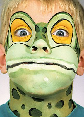 Frog/Fish/Turtle Makeup Inspiration