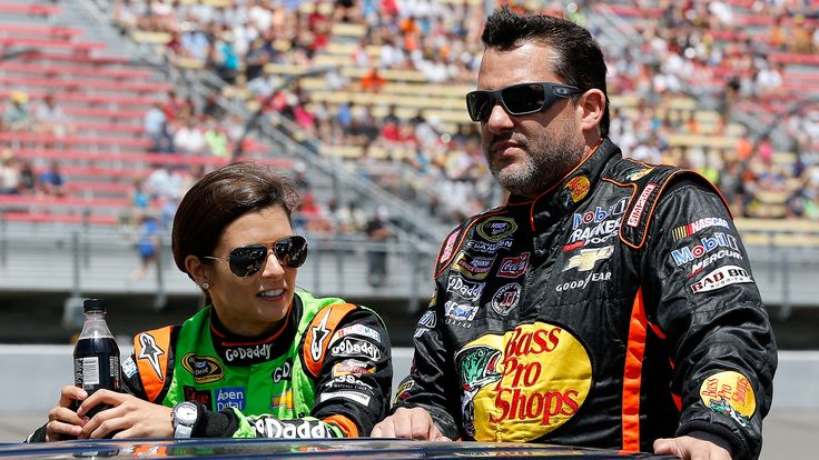 Danica Patrick doesn't like being interrupted ... just ask Tony Stewart