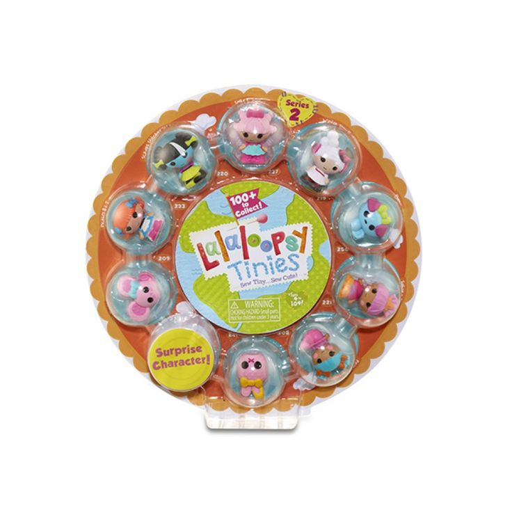 Lalaloopsy Tinies 10 Pack Orange ~ On layby for Kyries 4th birthday present :) Has some of her big Lalas in there!!