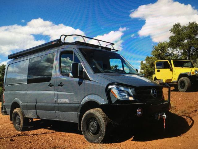 Class B travel Van 4 wheel drive mercedes | WD4FE7CDXGP296607 - 2016 Mercedes Benz Sprinter 4X4 EO - Class B Sprinter - Custom Camper Van - 4X4