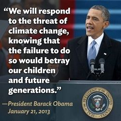 Ask President Obama to use the State of the Union address to remind the country of our urgent need for climate action.