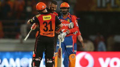 Exciting Cricket News: Sunrisers Hyderabad vs Gujarat Lions - Indian Prem...