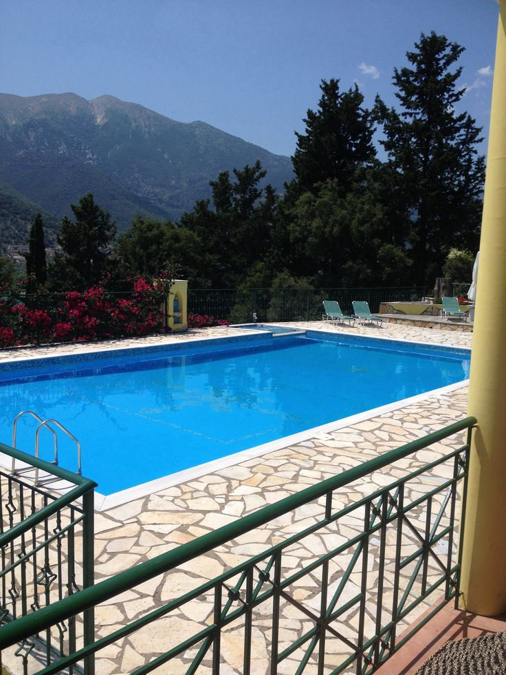 Ready for new guests - another gorgeous day in Lefkada