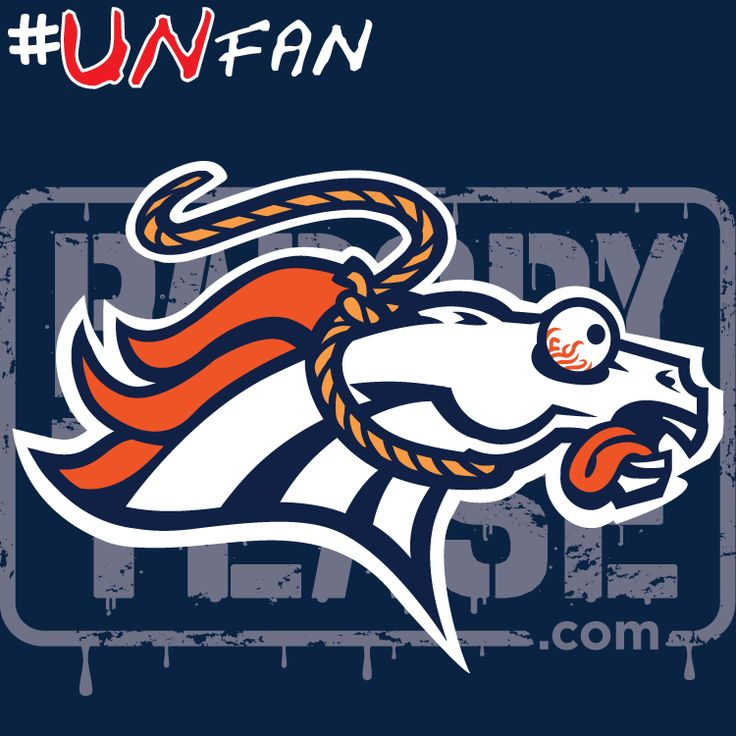 Funny Broncos Parody Logo #UNfan #Chargers #Broncos #Raiders #Chiefs #NFL #ParodyTease #memes