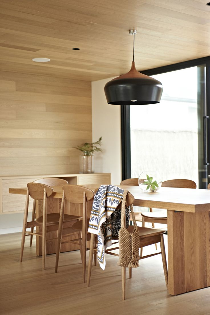 Contemporary kitchen dining room designs - 20 Contemporary Dining Rooms With Wooden Chairs
