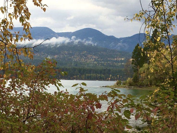 Whitefish Lake State Park in Whitefish Montana