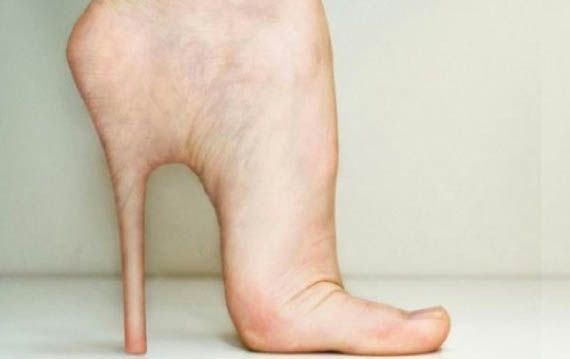 Heels You Can't Take Off At the End of the Night #photoshop #weird
