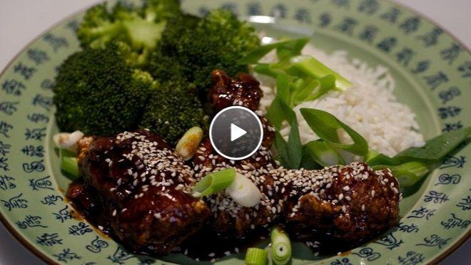 Makkelijke Chinese sesamkip met broccoli en rijst - recept   24Kitchen
