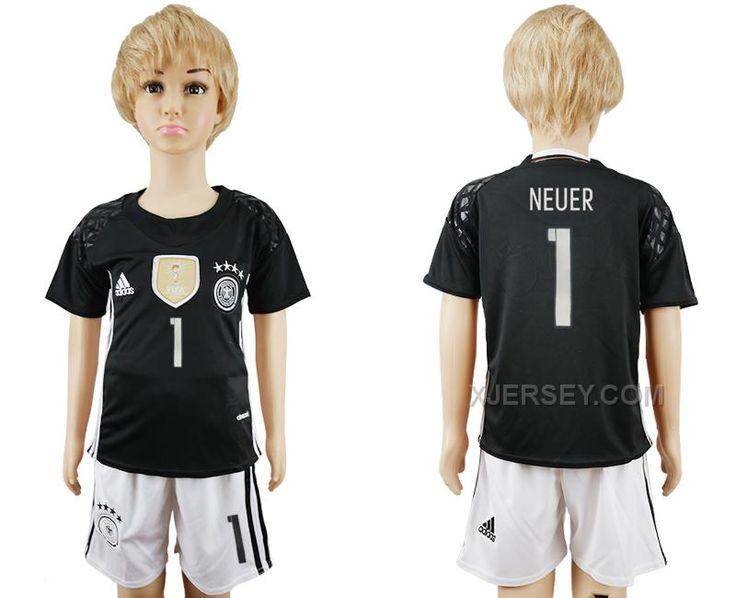 http://www.xjersey.com/germany-1-neuer-youth-goalkeeper-uefa-euro-2016-soccer-jersey.html GERMANY 1 NEUER YOUTH GOALKEEPER UEFA EURO 2016 SOCCER JERSEY Only $35.00 , Free Shipping!