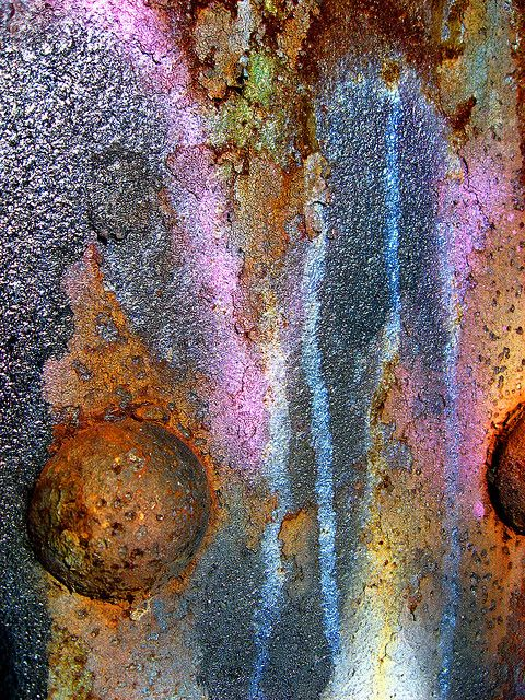 elemenop:Color & Corrosion by The Joy Of The Mundane on Flickr.